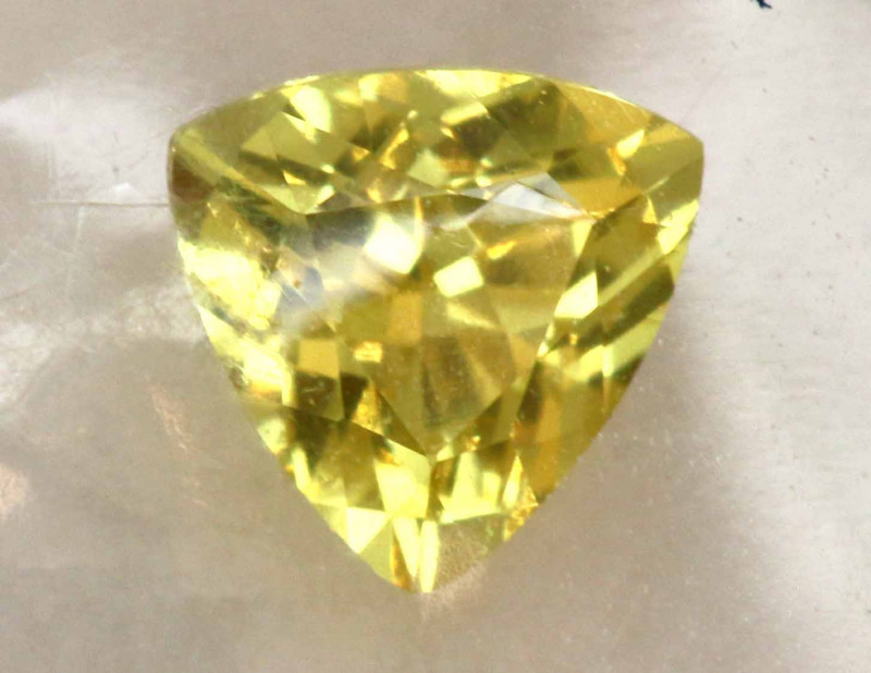 0.22  CTS  UNTREATED CERTIFIED YELLOW SAPPHIRE TBM-431