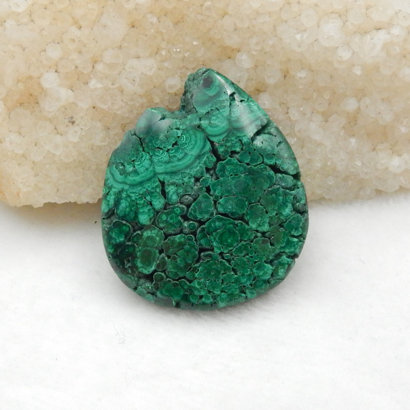176cts Malachite Specimen, Natural Bright Green Raw Rough Crystal Specimen