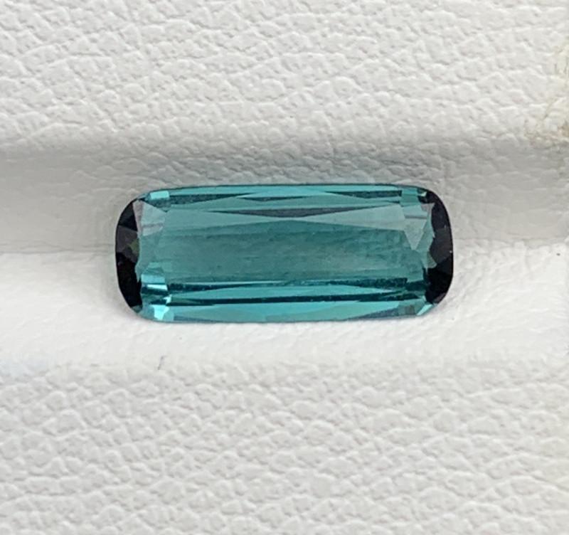1.28 Carats Indicolite Tourmaline Gemstone