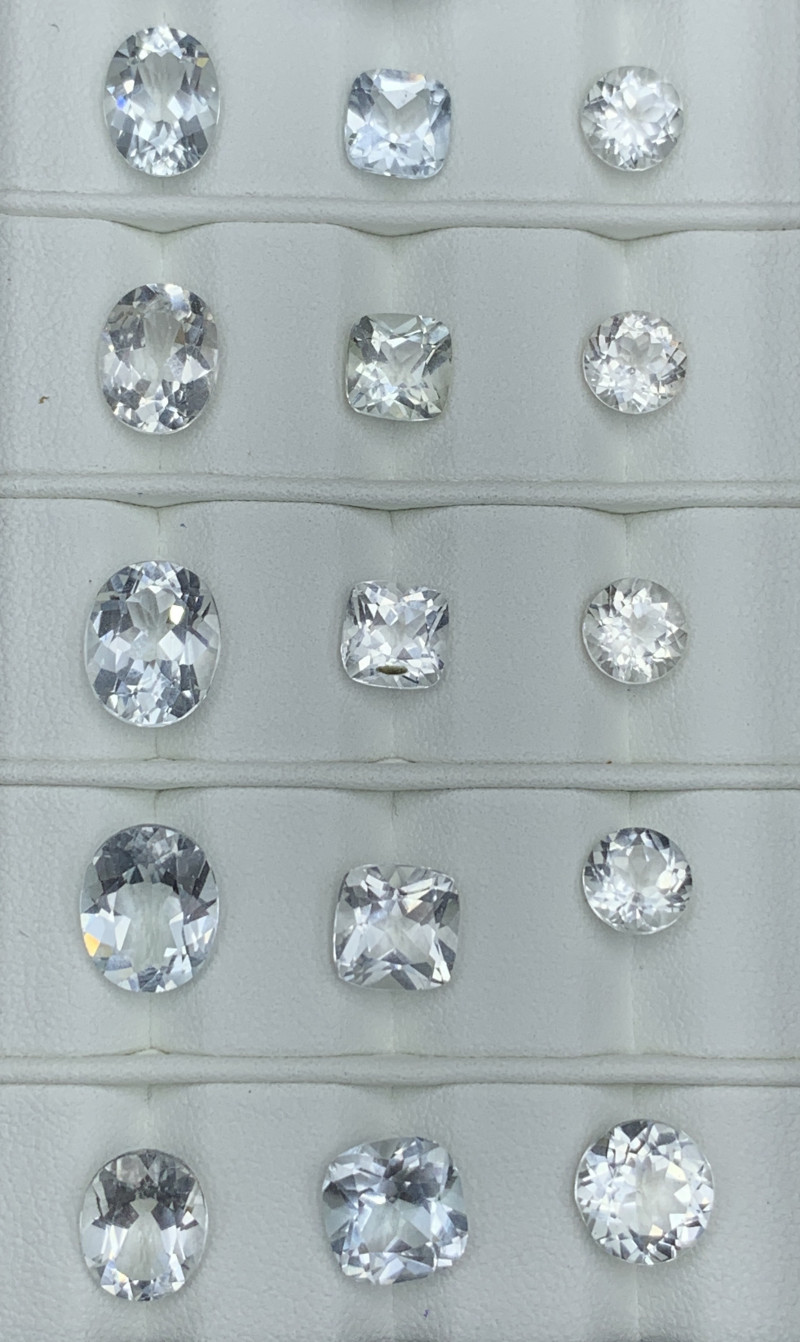 39.30 Carats Topaz Gemstones Parcel