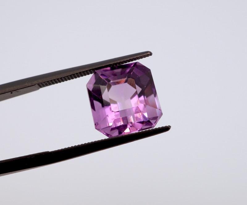 5.97 CT FREE SHIPPING! Custom Fancy Cut Purple Amethyst (Uruguay)