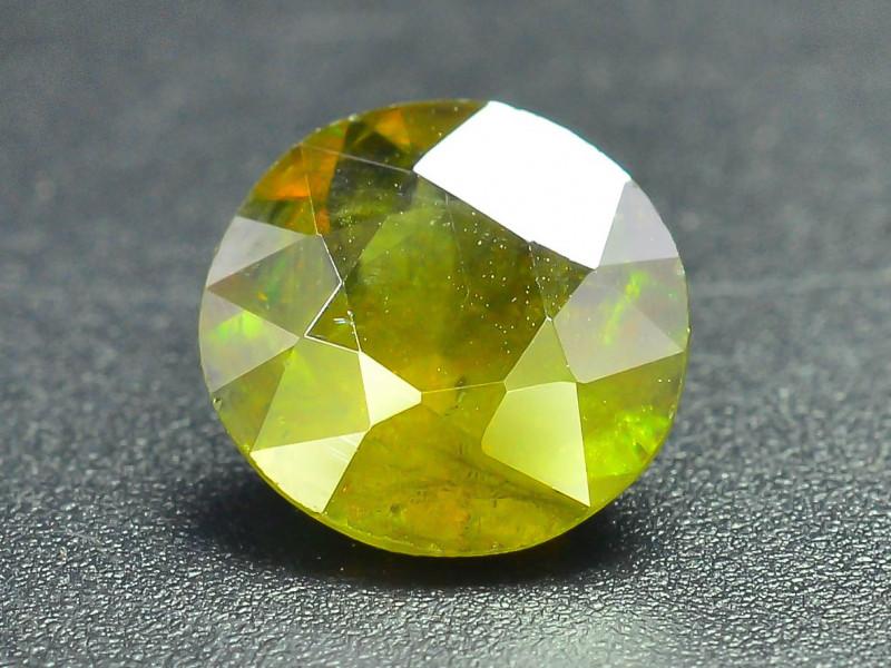 Read Description 1.30 ct Sparkle Chrome Sphene