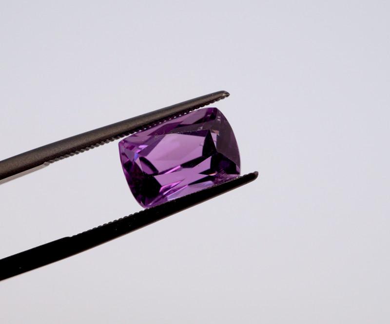 3.77 CT FREE SHIPPING! Custom Fancy Cut Purple Amethyst (Uruguay)