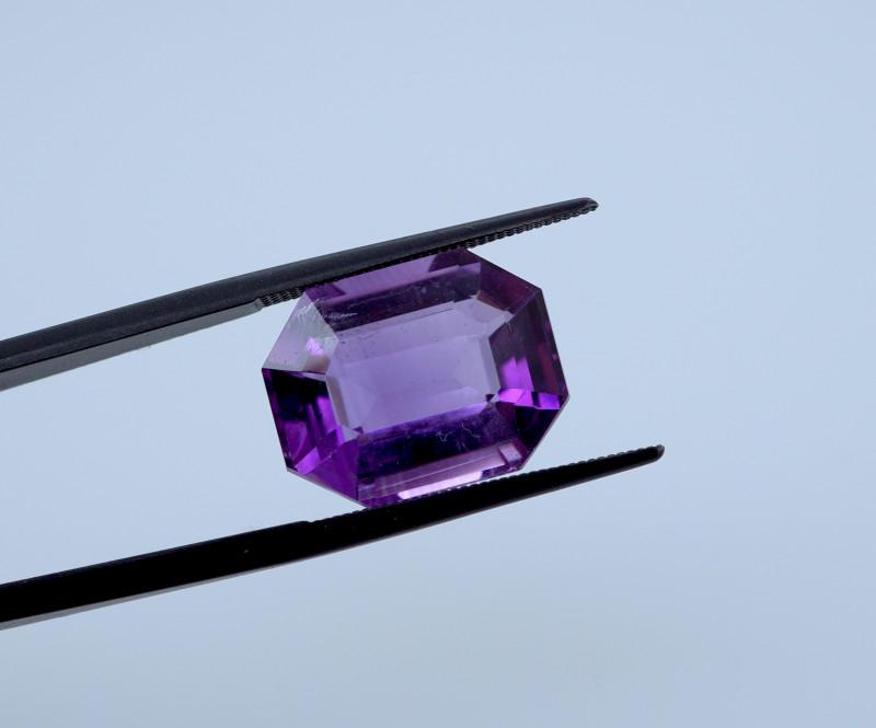 9.58 CT FREE SHIPPING! Custom Fancy Cut Purple Amethyst (Uruguay)