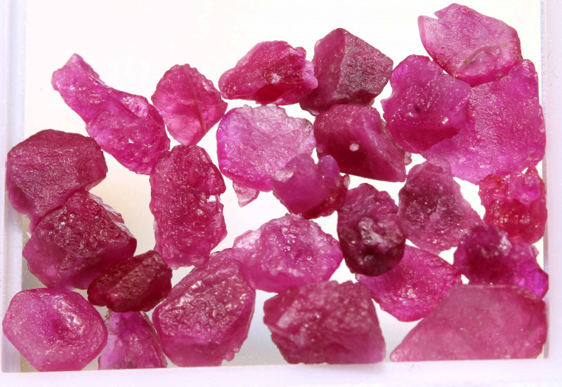 20 CTS BURMA RUBY ROUGH RICH PINKY RED PARCEL RG-5364