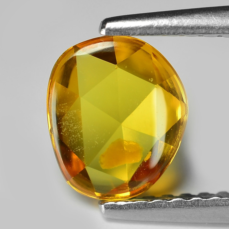 1.00 Carat Very Rare Yellow Color Natural Sapphire Loose Gemstones