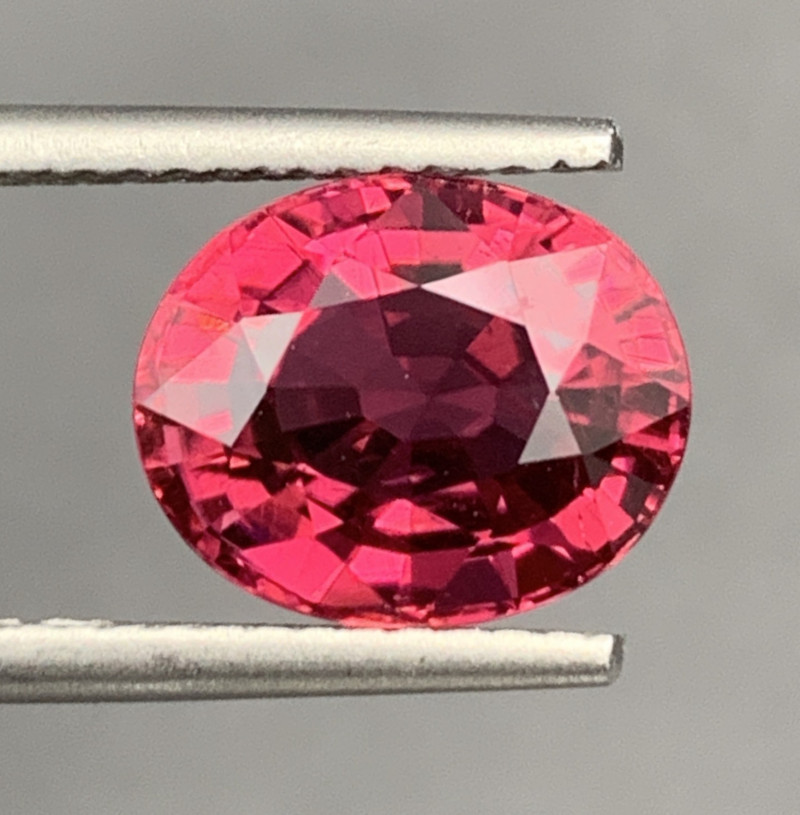 3.62Carats Natural Color RubelliteTourmaline Gemstone