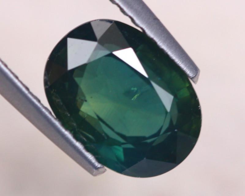 2.67Ct Natural Greenish Blue Sapphire Oval Cut Lot A1021