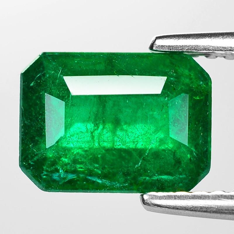 1.98 Cts Natural Vivid Green Colombian Emerald Loose Gemstone