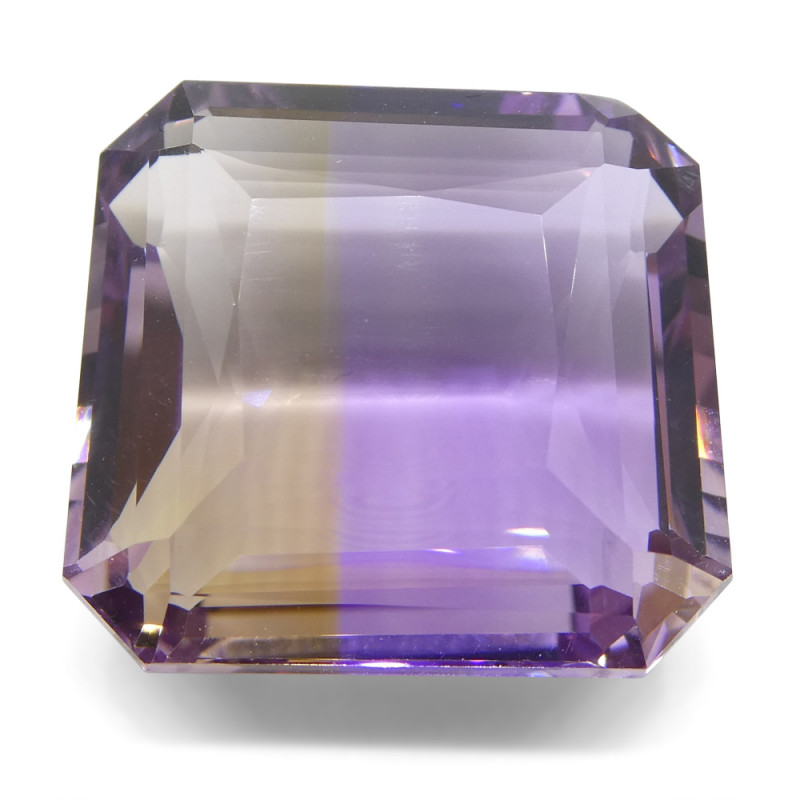 39.25 ct Square Ametrine