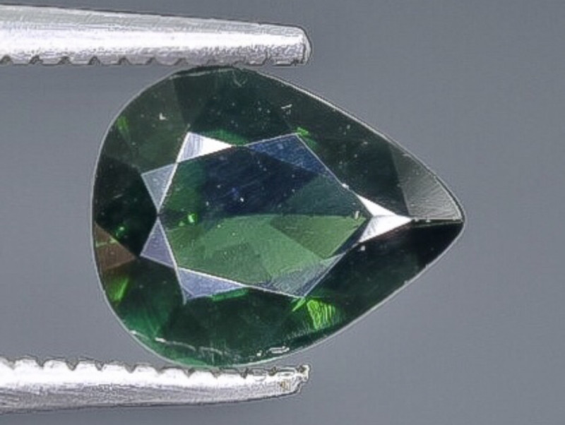 1.29 Crt Natural Tourmaline Faceted Gemstone.( AB 90)