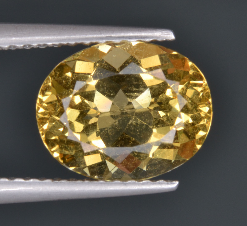 Natural Heliodor 2.41 Cts Top Luster