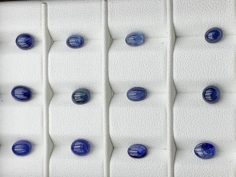8.56 Carats Sapphire Cabochons Parcel