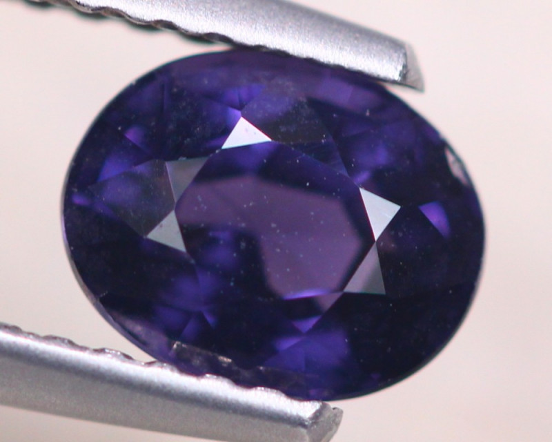 1.19ct Natural Purplish Blue Spinel Oval Cut Lot S156