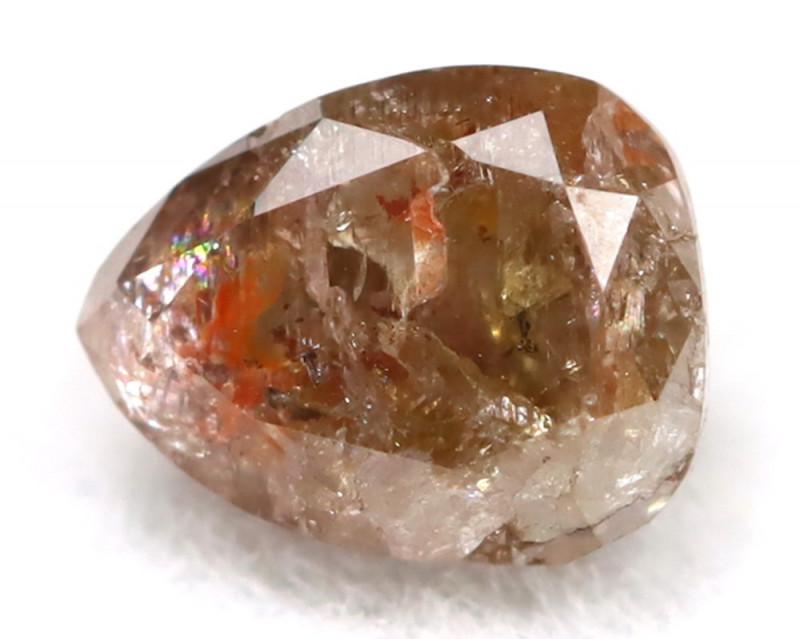 0.30Ct Natural Untreated Fancy Greyish Red Diamond BM0231