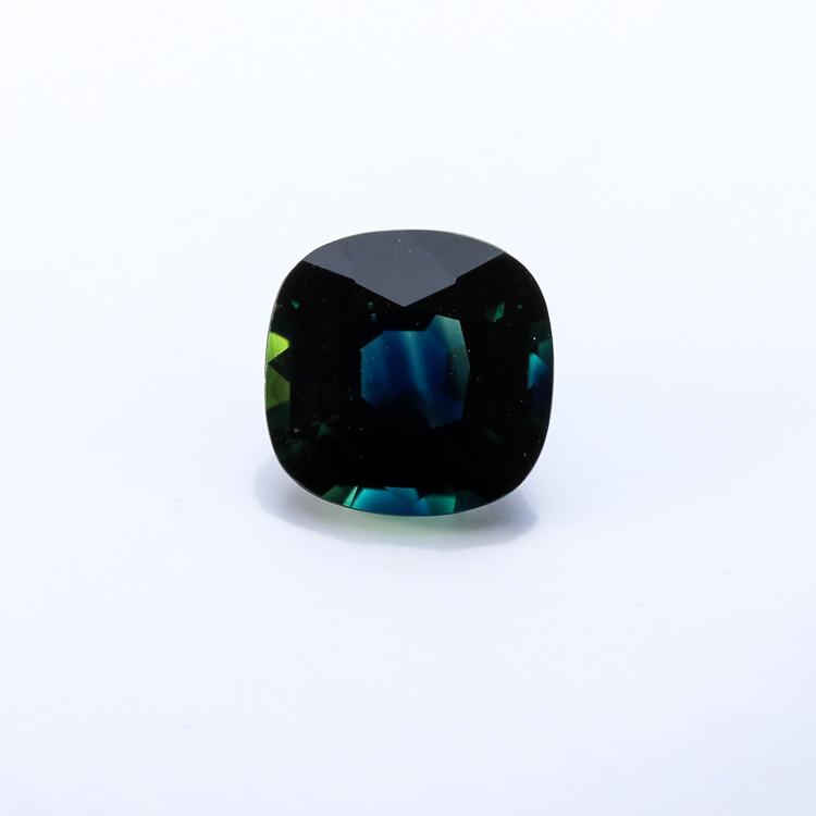 2.07ct. Lab Certified Natural Greenish Blue Sapphire