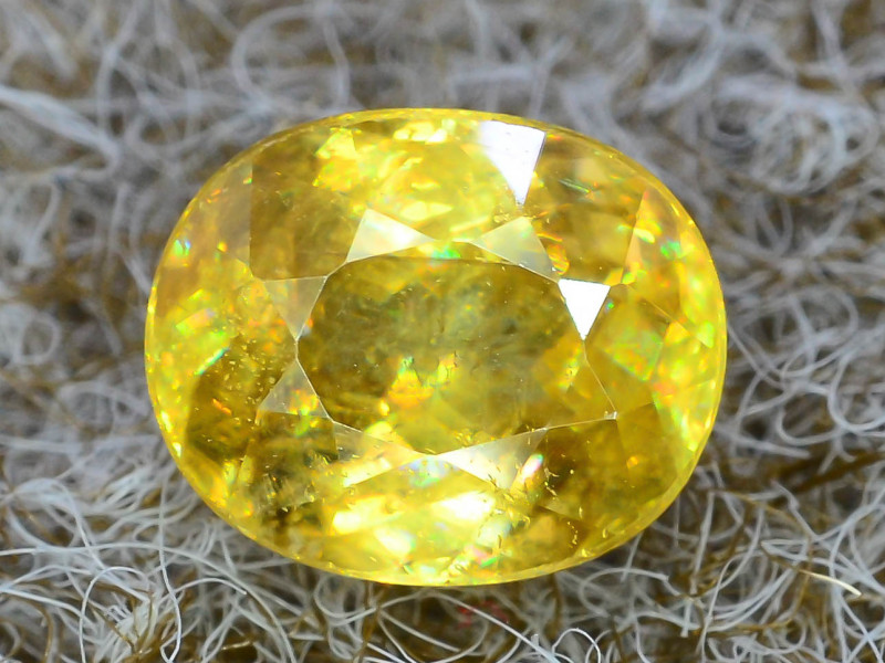 Rare AAA Fire 2.05ct Sphene  ~K