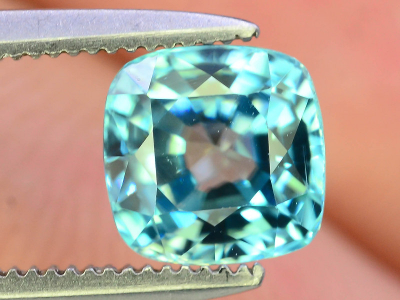AAA Brilliance 1.95 ct Blue Zircon Cambodia ~K