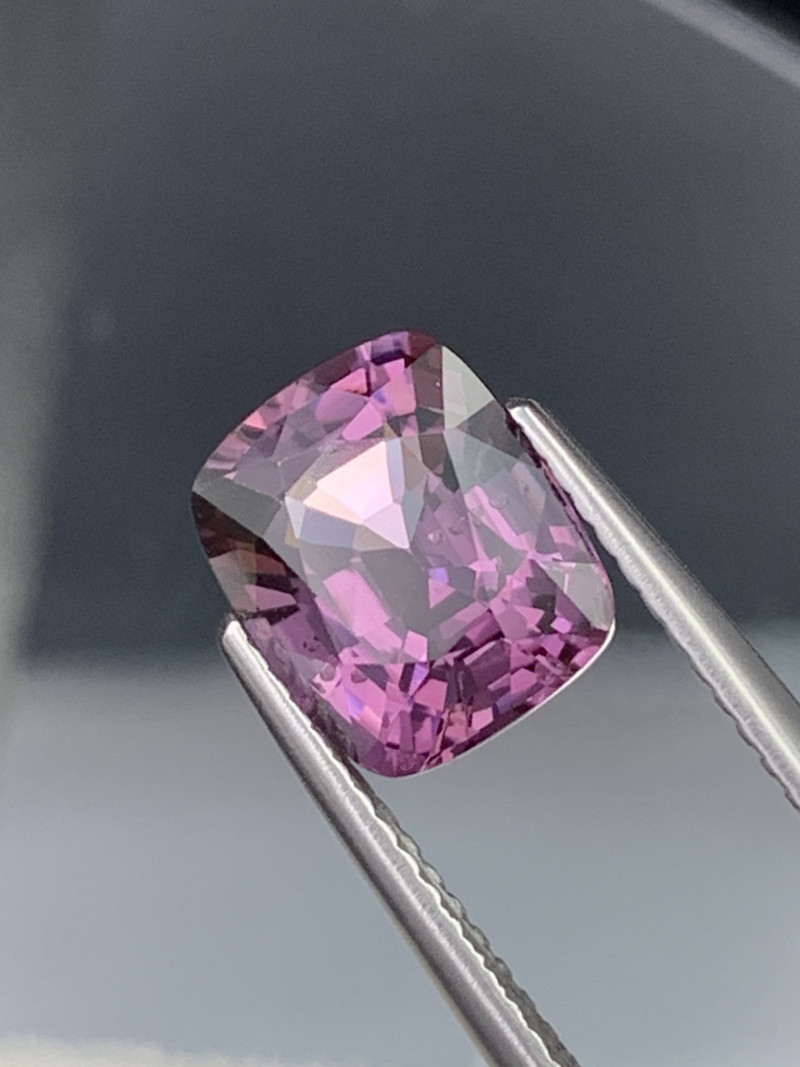 3.11 Cts Burma Lilac Purple Top Quality Natural Spinel Unheated/Untreated