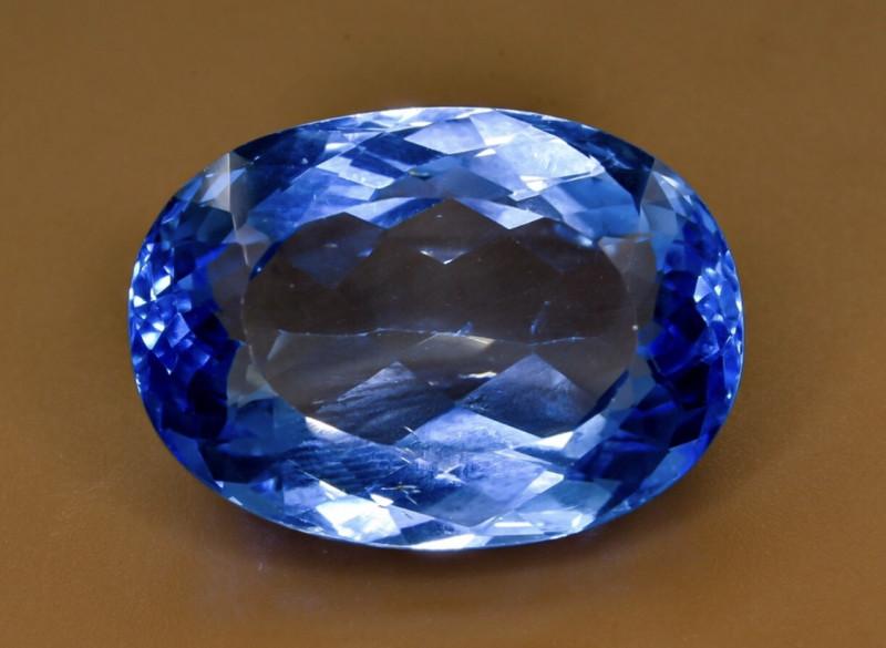 31.58 Crt Natural Topaz Faceted Gemstone.( AB 91)