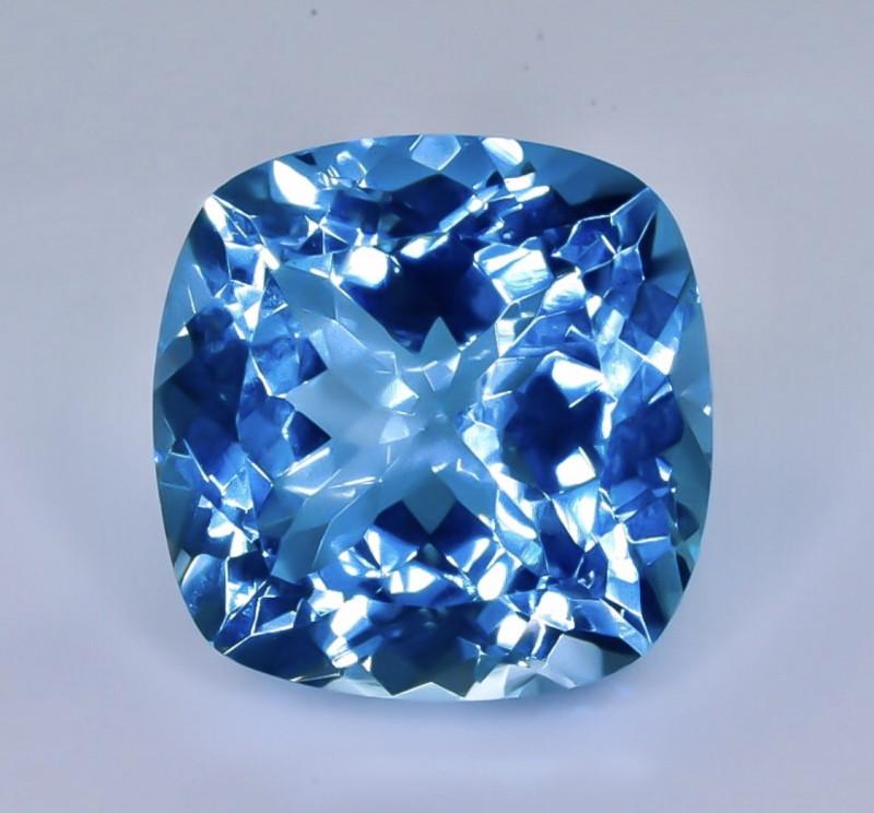 18.29 Crt Natural Topaz Faceted Gemstone.( AB 91)