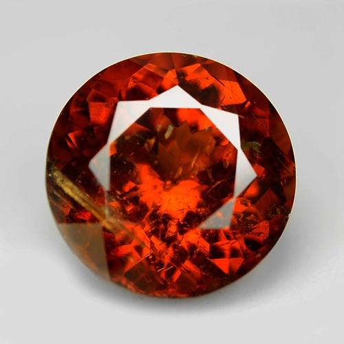 1.75 Cts Natural Orange - Red Spessartite Garnet Loose Gemstone