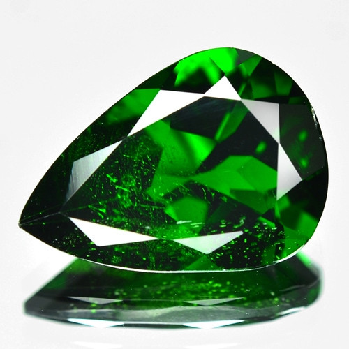 4.35 Cts Natural Green Color Chrome Diopside Loose Gemstone