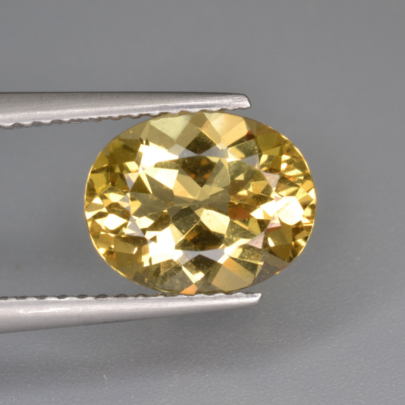 Natural Heliodor 2.26 Cts Top Luster
