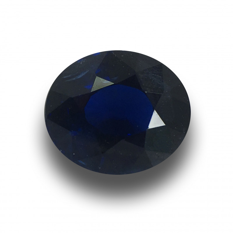 1.57 Carats | Natural Unheated Royal Blue Sapphire|Loose Gemstone| Sri Lank