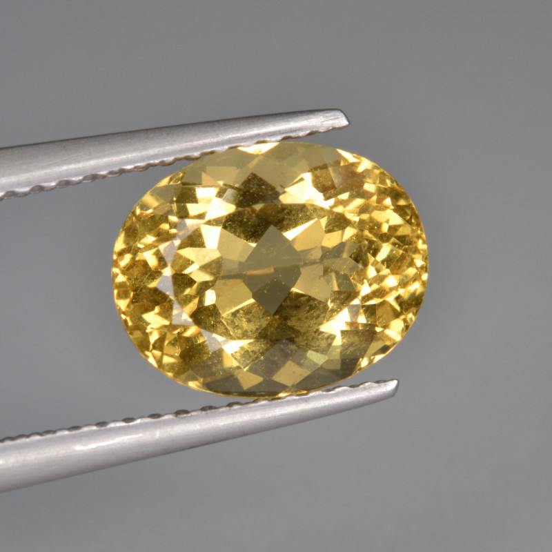 Natural Heliodor 2.82 Cts Top Luster