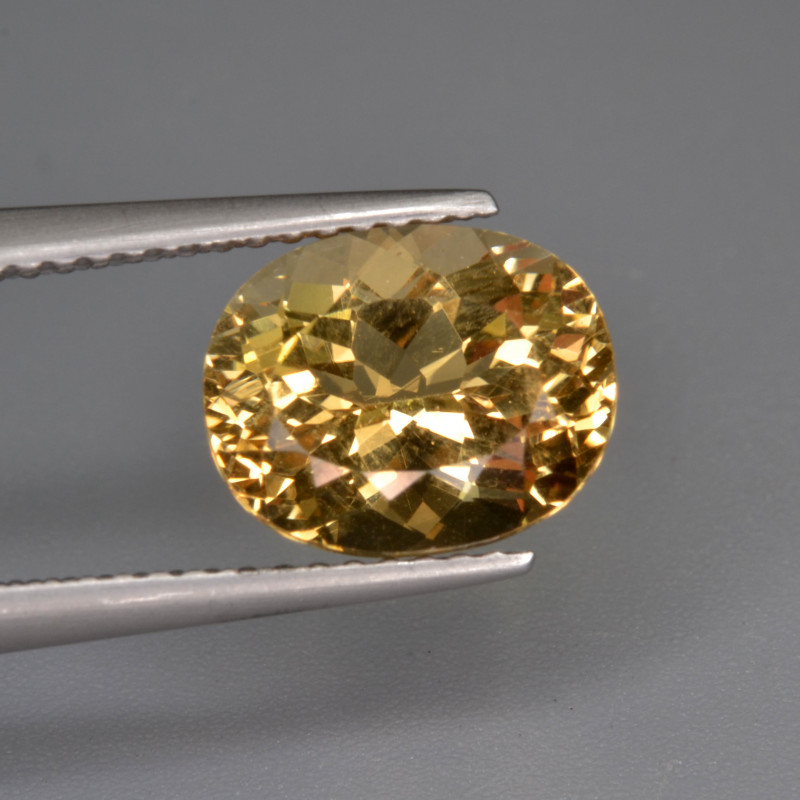 Natural Heliodor 2.86 Cts Top Luster