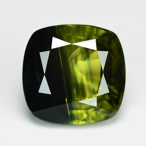 1.02 Cts Amazing Rare Natural Fancy Deep Green Sapphire Loose Gemstone