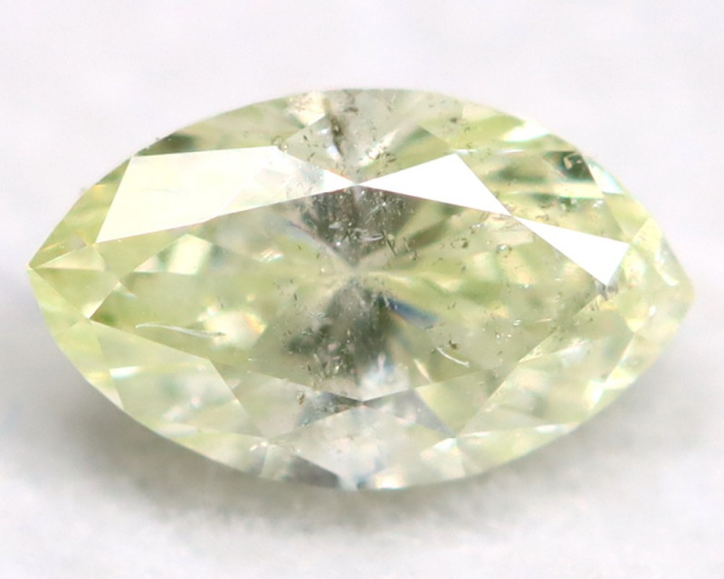 0.28Ct Natural Untreated Marquise Fancy White Diamond BM0307