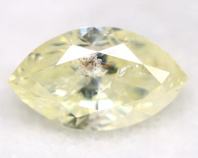 0.24Ct Natural Untreated Marquise Fancy White Diamond BM0310