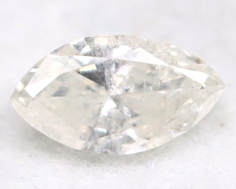 0.18Ct Natural Untreated Marquise Fancy White Diamond BM0312