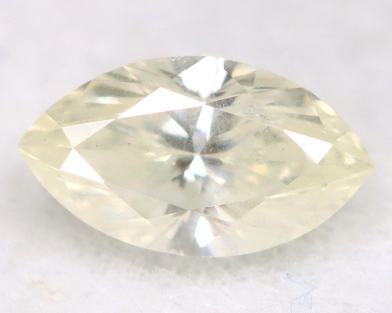0.20Ct Natural Untreated Marquise Fancy White Diamond BM0316