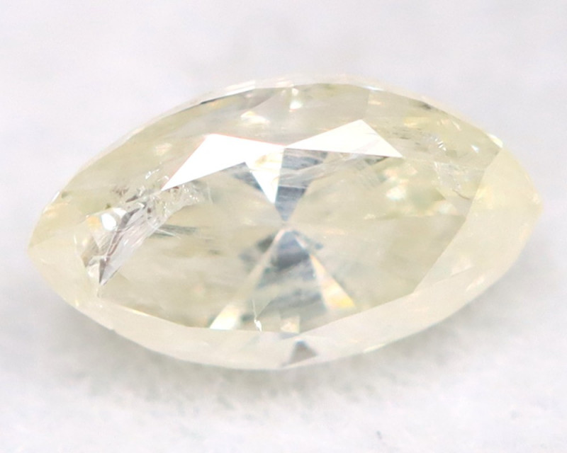 0.21Ct Natural Untreated Marquise Fancy White Diamond BM0324