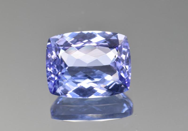 Natural Tanzanite 4.06 Cts Top Grade  Faceted Gemstone