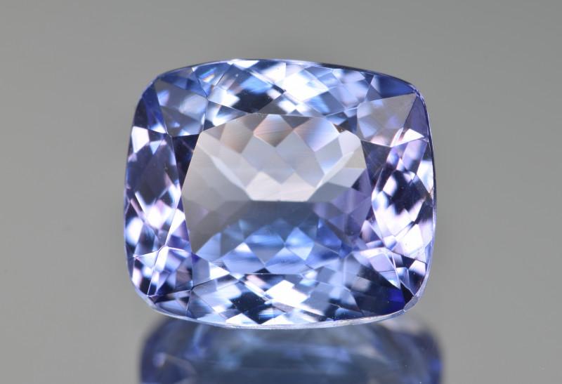 Natural Tanzanite 4.63 Cts Top Grade  Faceted Gemstone