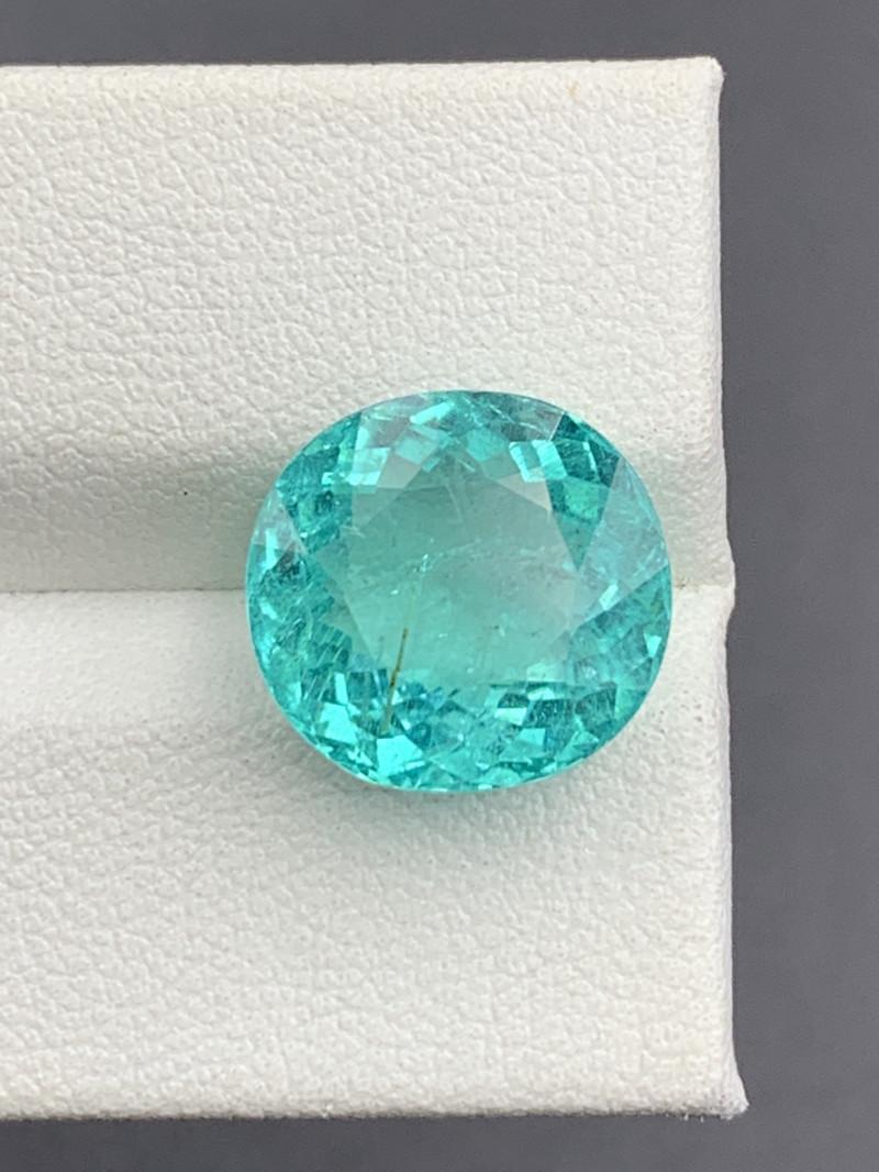 PARAIBA 7.80 CT Natural Color Paraiba  Tourmaline Gemstone Top luster