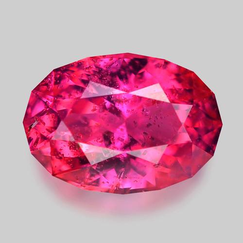 Exquisite custom precision oval cut natural Winza sapphire.