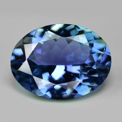 *No Reserve* Tanzanite 1.41 Cts Violet Blue Color Natural Gemstone