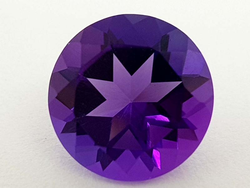 3.25Crt Natural Amethyst Natural Gemstones JI46
