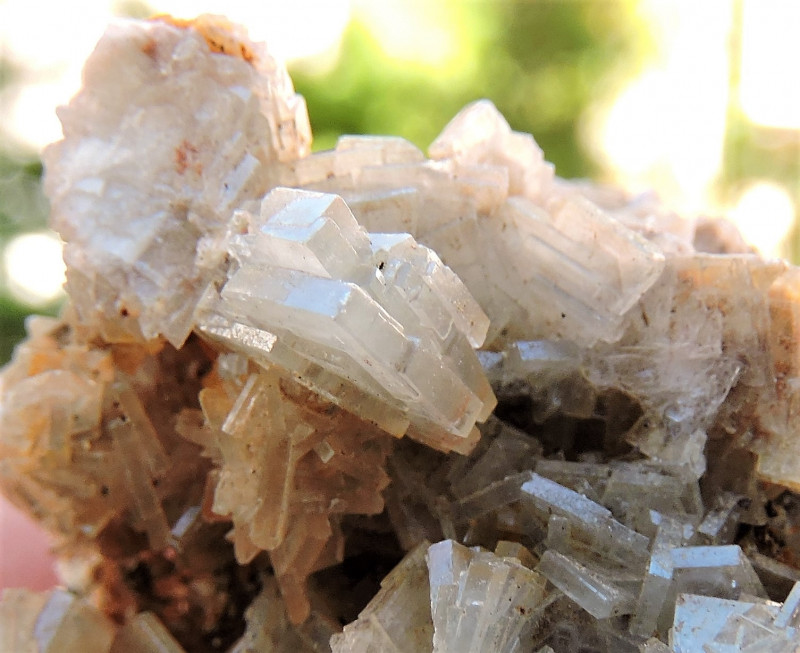 43.32g BLADED BARYTE CRYSTALS SPECIMEN FROM LAVRION MINES GREECE
