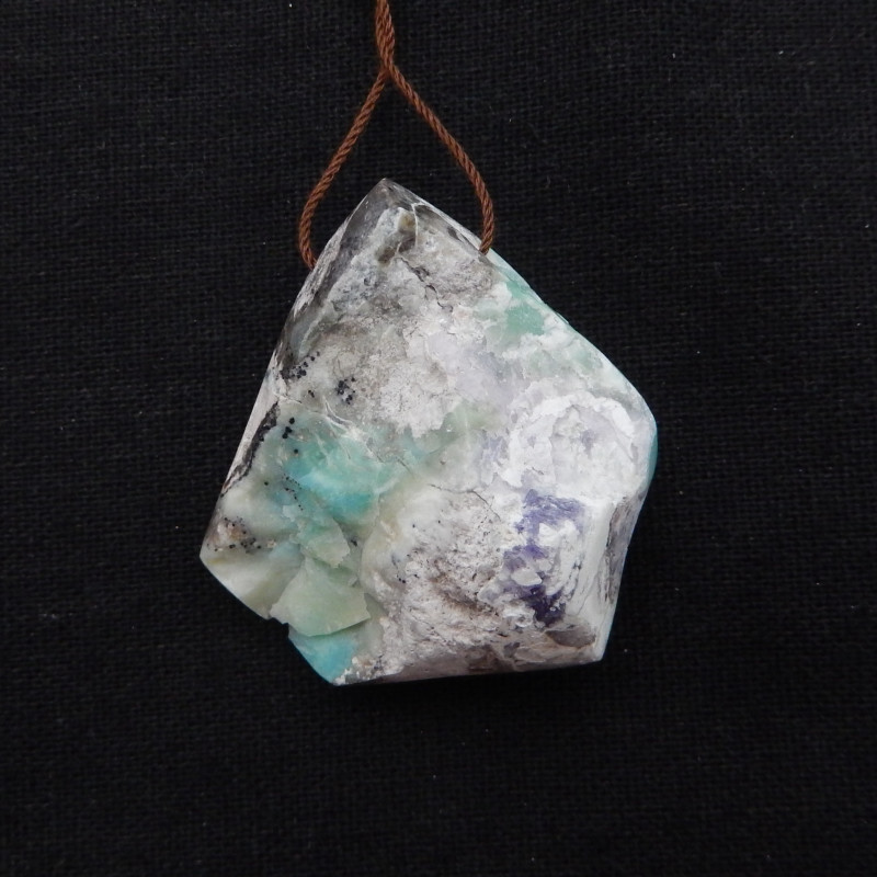 162.5cts Turquoise Pendant ,Natural Gemstone ,Turquoise Nugget Pendant G954