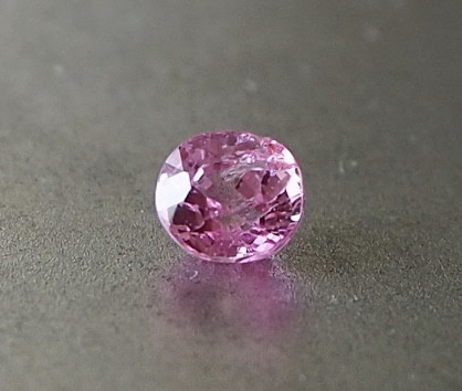0.57ct unheated hot pink sapphire