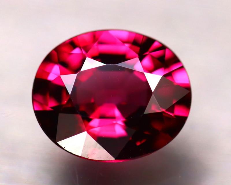 Rhodolite 2.85Ct Natural Purplish Red Rhodolite Garnet ER176/A5