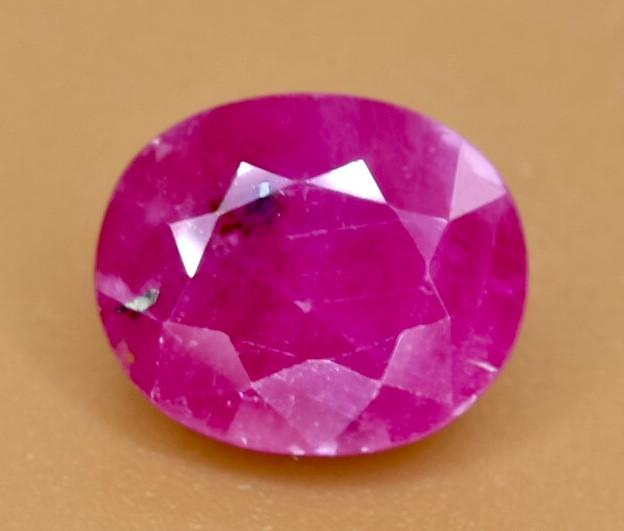3.02 Crt Ruby Faceted Gemstone (Rk-66)