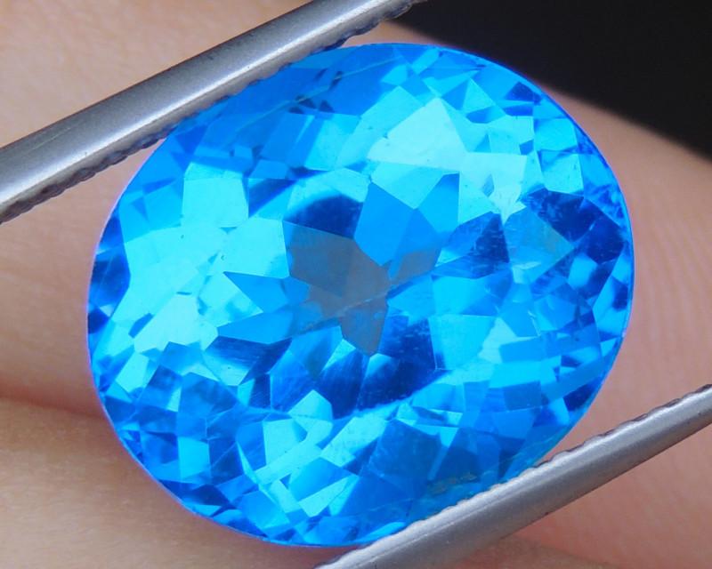 10.25cts, Cobolt Blue Topaz,