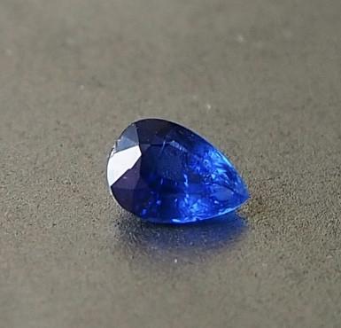 0.43 unheated royal blue sapphire